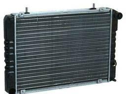 Радиатор охлаждения 3302, 2705, 2217, Газель крепление. ..