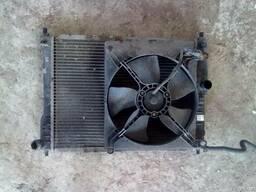 Радиатор охлаждения на Део Ланос Daewoo Lanos