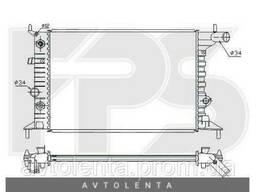 Радиатор охлаждения двигателя Opel Vectra B (FPS) FP 52 A281