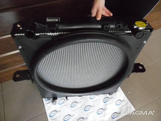 Радиатор системы охлаждения двигателя 4HK1 Е5 ISUZU NQR90/NPR75 Isuzu