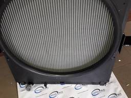 Радиатор основной с диффузором на Атаман, Isuzu 4HK1 евро 3