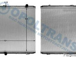 Радиатор RVI Premium 210-300 -05г без рамы 825*722*43 Lucent