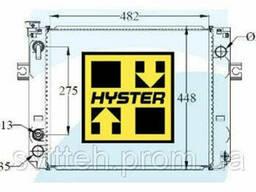 Радиатор Вилочный Погрузчик Hyster 580035840 1171102