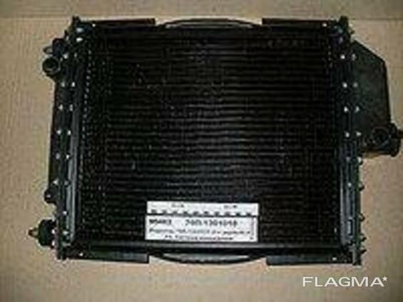 Радиатор вод. охлажд. МТЗ-80, Т-70 70У-1301.010 с дв. Д-240, 241 (4-х рядн. ) (латунная. ..