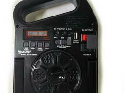 Радио колонка с проигрывателем MP3 фонарь от солнечной. ..