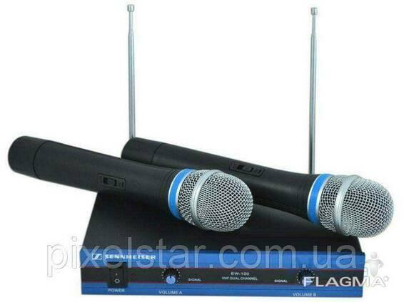 Радиомикрофон Sennheiser EW-100 2 микрофона