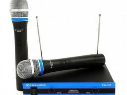 Радиосистема Sennheiser EW-100, 2 микрофона (0553)