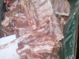 Рагу свинное, шейная хребтовая кость