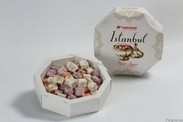 Рахат-лукум с арахисом Istanbul 400гр