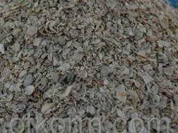 Ракушка кормовая для птицы дробленая, фасовка по 3 кг