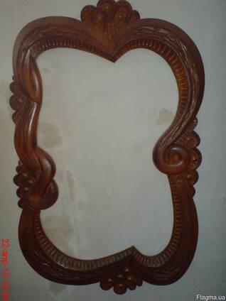 Рама под зеркало деревянная