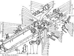 Втулка вертикального шарнира 125.30.126 к тракторам Т-150К,