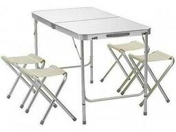 Раскладной стол для пикника со стульями Folding Table. ..