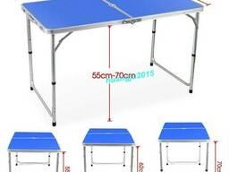 Раскладной стол для пикника ZZ18007-blue, туристический стол