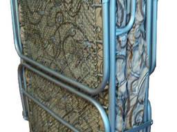 Раскладушка на панцирной сетке (70*192*33)