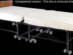 Раскладушка ортопедическая с колесиками Тумба