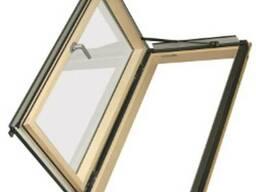 Распашное термоизоляционное мансардное окно Fakro