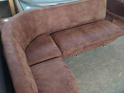 Распродажа бу угловых диванов из кожзаменителя