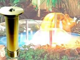 Распылительная латунная насадка для фонтана Грибок