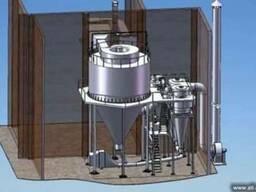Распылительная сушильная установка для молока