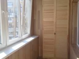 Расширение балконов в Одессе, ремонт