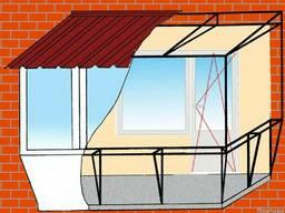 Расширение обшивка и утепление балконов