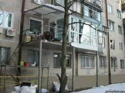 Расширение, ремонт балконов