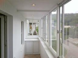 Остекление Балкона, Отделка, Утепление, Откосы