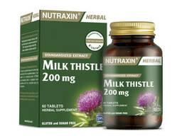 Натуральный препарат Unice Nutraxin 'Расторопша' защищает клетки печени, 60 таблеток