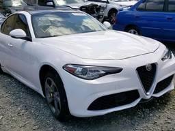 Разборка Alfa Romeo Giulia запчасти новые и бу