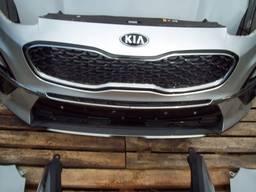 Бампер передний решетки туманки для KIA Sportage 4 IV QL
