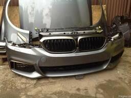 Разборка BMW G30 детали кузова бампер фара крыло
