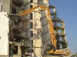 Разборка и снос зданий в Одессе.