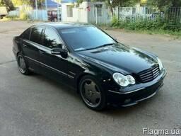 Разборка Mercedes-Benz C-CLASS W203 б/у капот фара бампер