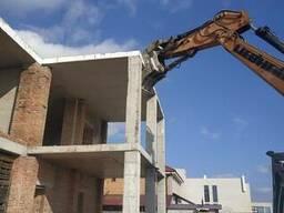 Разборка монолитных зданий Одесса