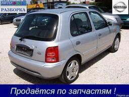 Разборка Nissan Micra K11, 1. 4i, АКПП, х/б, 2002 г. в. Киев
