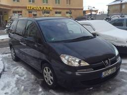 Разборка Peugeot 807 (2002-2012)
