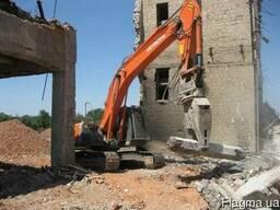 Разборка, снос, демонтаж. Вывоз строительного мусора. Уборка