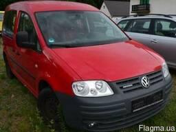 Разборка VW Caddy Life запчасти салон сидушки капот кузов