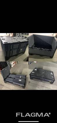 Разборной контейнер, биг бокс, пластиковый ящик, евро