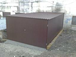 Разборной металлический гараж