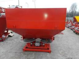Разбрасыватель на трактор 1000 кг фирмы Jar-Met Польша - фото 1