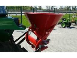Разбрасыватель удобрений 300 кг однодисковый, металл - пласт