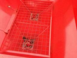 Разбрасыватель удобрений навесной Jar Met 1000 л с карданом - фото 2