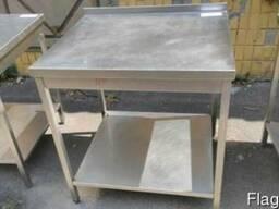 Стол из нержавейки кухни 800*700