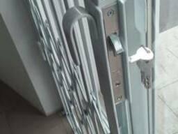 Раздвижные решетки металлические Балкар-Днепр на заказ