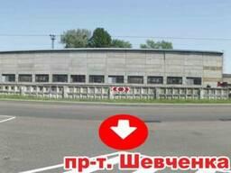 Размещение рекламы на стене (брандмауере), г. Вышгород