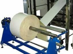 Размотчик, намотчик бумаги, пленки, фольги в рулонах (под за