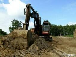 Разработка грунта механизированная, любой категории.