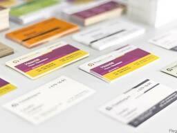 Разработка и печать визиток